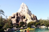 Disneyland magic mountain? Or mountain? I don't know