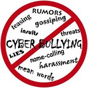 Cyber Bullying Involves: