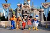Visit Disneyland in California