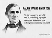 Self Reliance - Ralph Waldo Emerson