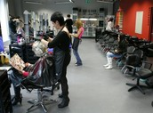 Meie enda juuksurid :)