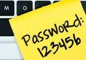 No easy passwords
