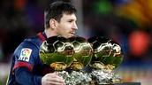 4º Leo Messi Joueur de futbol