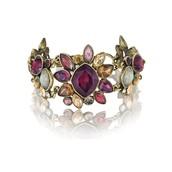 Bouquet Rouge Statement Toggle Bracelet $68
