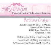 Bethina's Baby Shower