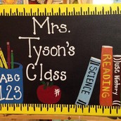 Classroom Sign!! $25 Special!! Personalize Your Own!!