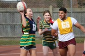 Sixth Form Netball Match