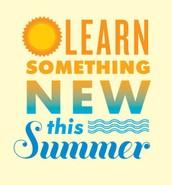 More Summer Opportunities