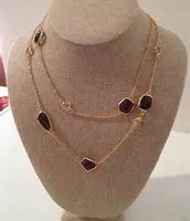 Pippa Necklace - Purple