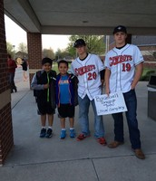 CHS Baseball Team Visits