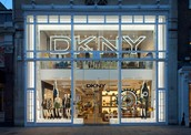 The DKNY's London Flagship Store