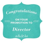Promoted to Director
