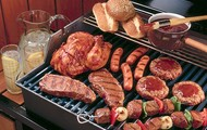 Charcoal BBQ Grill Package