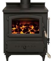 Furnace that burns coal