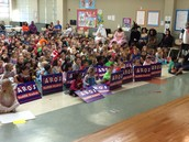 November 19 - Patriot Pride Rally - Kinder, 1st, 2nd gr.