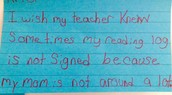 WHAT DO STUDENTS WISH THEIR TEACHER KNEW?