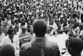 Presidente Francisco Macías Nguema Después de su Inauguración
