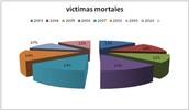 PROPORCIÓN DE VICTIMAS MORTALES DE 2003 A 2010