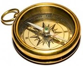 The gold compass