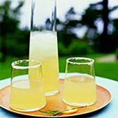 Ginger Rosemary Lemon Drop Cocktails