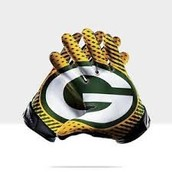 Packers Football Gloves