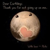 we will never forget you pluto