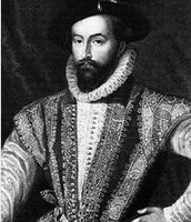 Portrait of Walter Raleigh