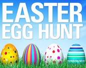 EASTER EGG HUNT: THURSDAY, MARCH 31ST at 10 am