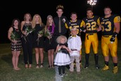 2015 Fall Homecoming Court