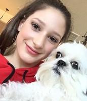 My dog Mia