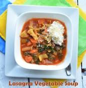 Lasagna Vegetable Soup