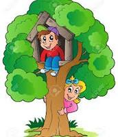 Trepaban a los árboles.