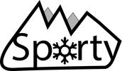 Sporty Sportief en warm in de bergen