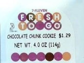 7-Eleven Fresh To Go Cookies
