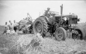 Farm machines in 1950