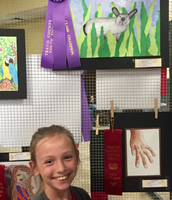 WCHE Art Student wins award!