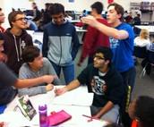 Math Debate at Lunch