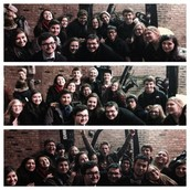 Group Shots with the NEWSIES on Tour!