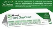 Excel 2013 Cheat Sheet