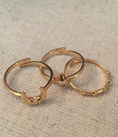 Aurora Ring Set - adjustable size