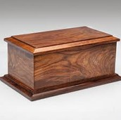 Simple Wooden Urns