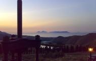 tramonto a Villa Rica