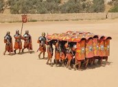 Roman Military Battle Tactic