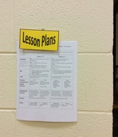 Lesson Plans Posted