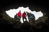 Icelandic cave