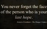 quote by Katniss Everdeen