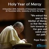 "Jubilee Year of Mercy, ""Let us be Merciful like the Father"""