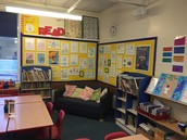 Classroom reading corner