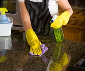 Clean those countertops!