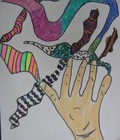 Hand/line design